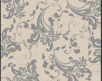 1 Yard Rock n Romance Stardust Twilight Dusty Gray designed by Pat Bravo for Art Gallery Fabrics