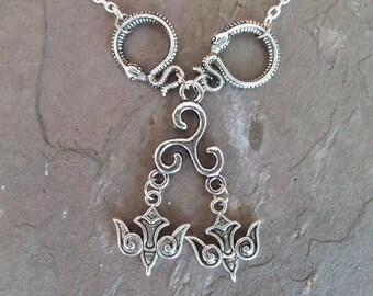 Odin Shamanic Shapeshifter Totem Animal Necklace (Assembled item)