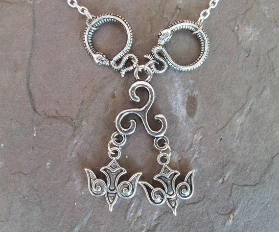 Odin Shamanic Shapeshifter Totem Animal Necklace