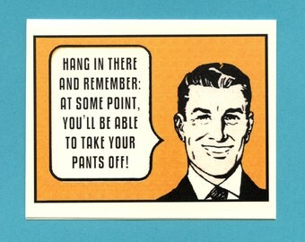 WORDS OF ENCOURAGEMENT - Encouragement Card - Cheer Up - Encouragement - Funny Card for Boyfriend - Card for Him - For Friend - Item# M093