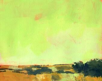 Original landscape painting - No further south
