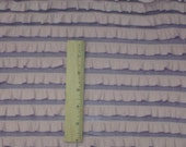 Lavender & Pink Two Tone Ruffled Knit Fabric
