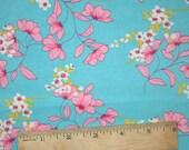 Aqua and Pink Wildflowers
