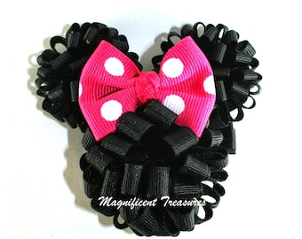 Minnie Mouse Loopy Puff Bow