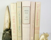 5  Khaki Tan Beige Book Collection/ Interior Design / Photography Props