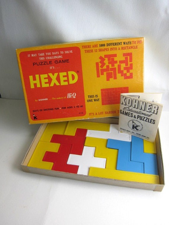 Hexed Vintage Puzzle Game by Kohner