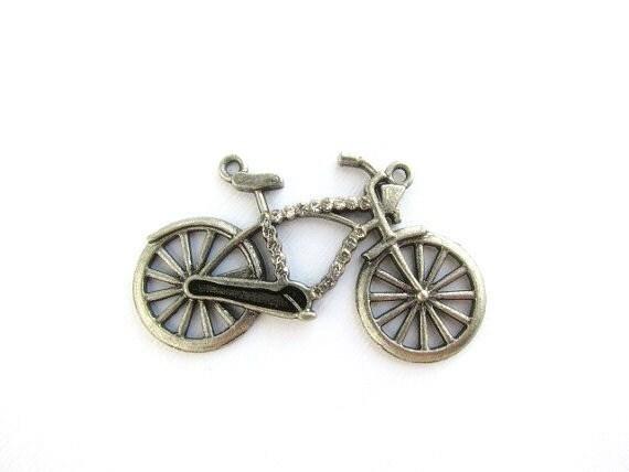 Sweet Bicycle pendant