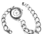 Silver Quartz Bracelet Watch - Rope (Get 10% OFF with COUPON CODE for Special Sale)