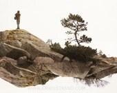 Surreal art, Scandinavian mythology, Middle Earth, abstract fantasy art, fine art photography