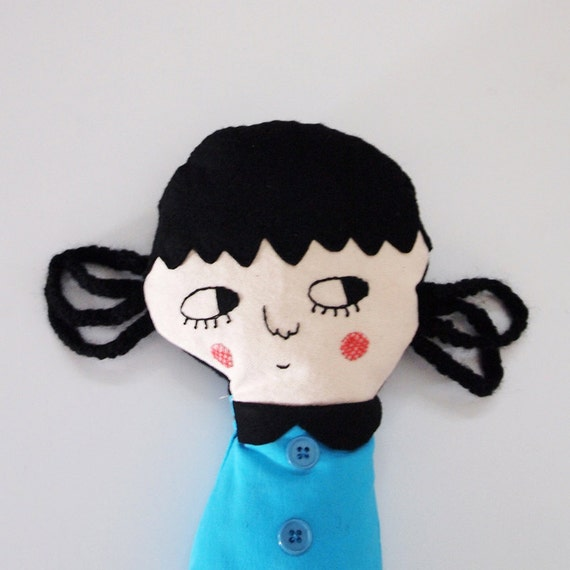 Betty,  one-of-a-kind handmade art doll