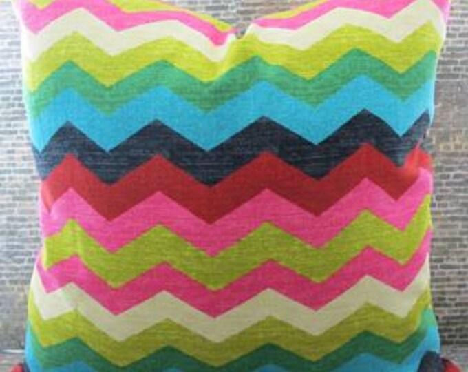 SALE Designer Pillow Cover - 16 x 16, 18 x18, 20 x 20, 22 x 22 - Panama Wave -