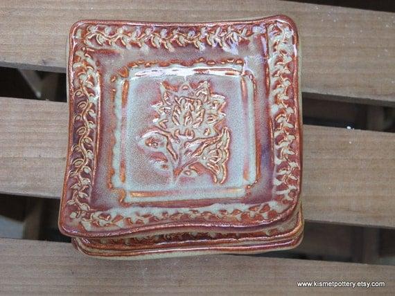 Ceramic Trinket Dishes, Handmade Pottery Ring Dishes, Ceramic Soap Dishes, Spoon Rests, Handmade Pottery Hostess Gift