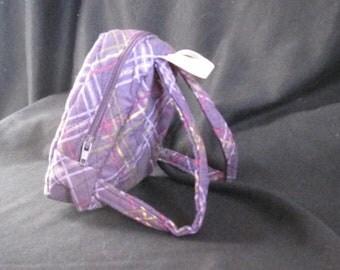 "18"" Doll - Purple Backpack"