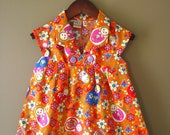 Hannah Dress Orange Russian Dolls size 3