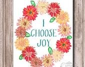 I Choose Joy- Print