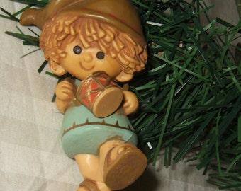 Vintage Christmas ornament  Hallmark drummer boy 1980 Drummer Boy Hallmark Ornament