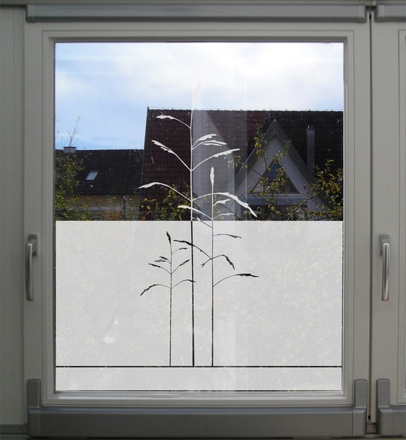 Customizable window film etched glass and frosted glass for Dekorfolie bad