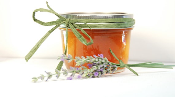 Organic Apricot Lavender Infused Jam Farmers Market