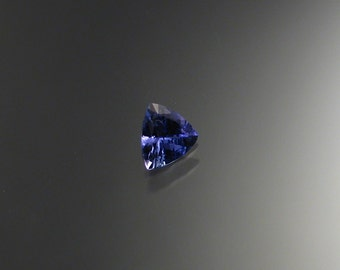 Faceted Tanzanite Loose stone, 6.75mm Triangle