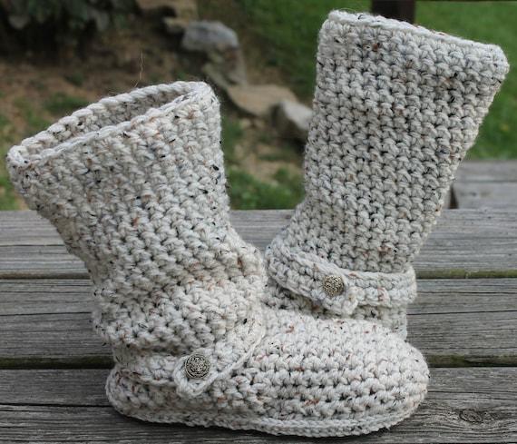 Crochet Boots Patternoatmealslouchy Mid Calf