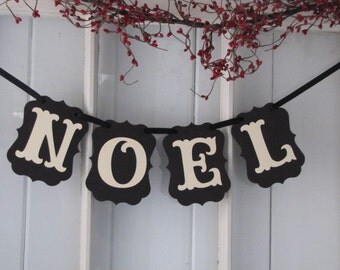 NOEL  Banner for the Holiday Season