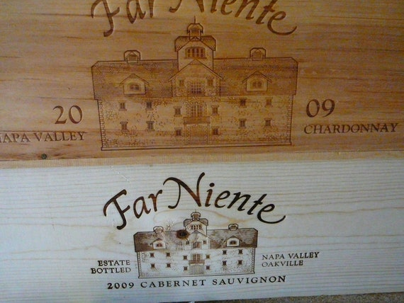 Wine Crates / Wedding Decor / Napa Valley / Magazine Holder / Garden Box