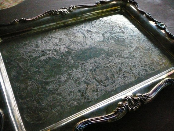 Silver Tray Made In The Usa Oneida