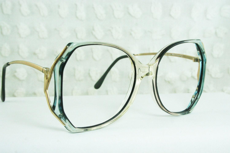 vintage 70s glasses 1970 s oversize eyeglasses light by