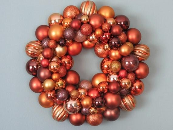 AUTUMN HARVEST Ornament Wreath