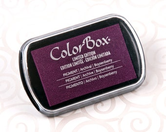 Colorbox Pigment Ink Pad (Full Size) - Boysenberry