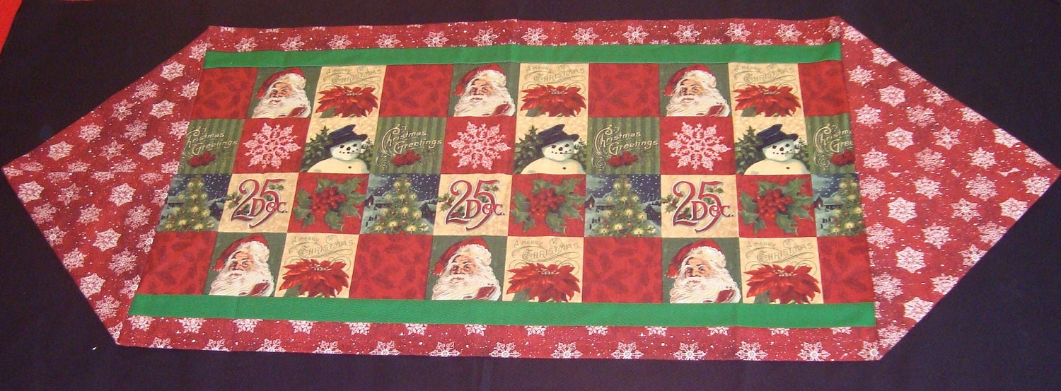 Sale easy holiday 10 minute table runner sewing kit for 10 minute table runner directions