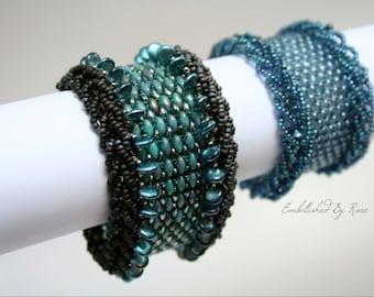 SALE! 5 DOLLARS OFF Every Pattern: Twin-kle Twin-kle Cuff Bracelet Beading Pattern