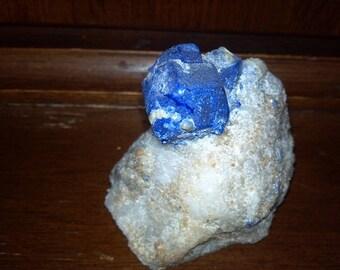Beautiful crystalline Lapis Lazurite specimen