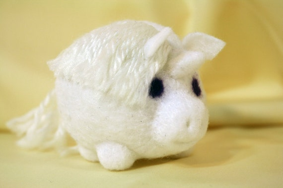 roly poly unicorn doll