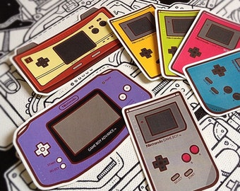 Game Boy Sticker Pack