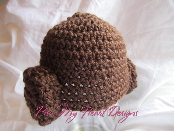 Crochet Pattern Princess Leia Hat : Crochet Star Wars Princess Leia Inspired Hat by ...