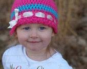 Crochet Pattern  Beanie - SWEET LIL HAT