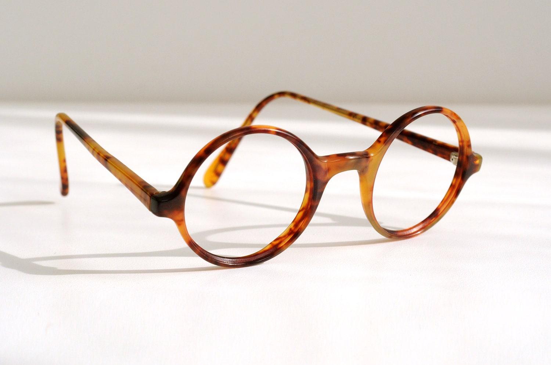 Eyeglasses Frame Too Small : small round glasses tortoise shell 80s Polo Ralph Lauren