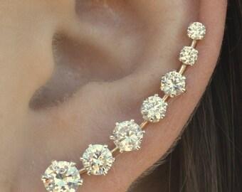 Earring Pin - Ooh La La -  Sterling Silver  or 14K Gold Filled