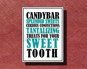 Wedding Candy Bar Sign