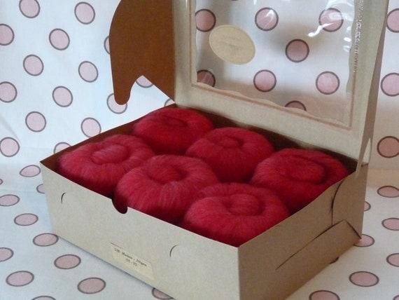 Spinning Fiber Batts - Superwash Merino/Nylon  6 ounces  - Beauty