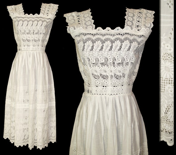 Reserved Late 1800s Early 1900s Dress Edwardian By