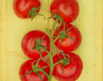 Food photography,kichen art, Grow Your Own3 - retro,yellow,red