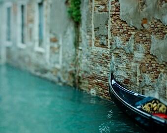 """Venice Italy photography, Venice print, gondolas in Venice - """"Dreamboat"""""""