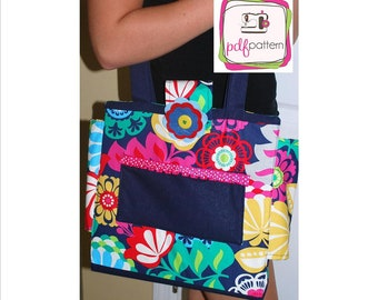 pdf Binder Purse Sewing Pattern - INSTANT DOWNLOAD!!!
