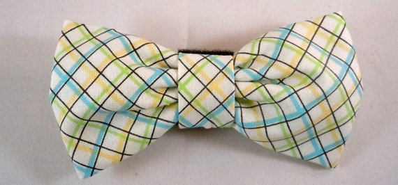 Dog Bow Tie or Flower - Vintage Vibe