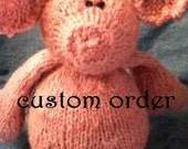 "reserved listing for ""D"" -- pig yarn / 6.7 oz / 300 yards"