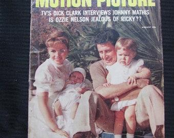 Vintage Motion Picture Magazine August 1958