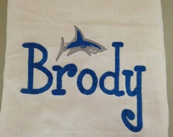 Personalized Beach Towel with Design
