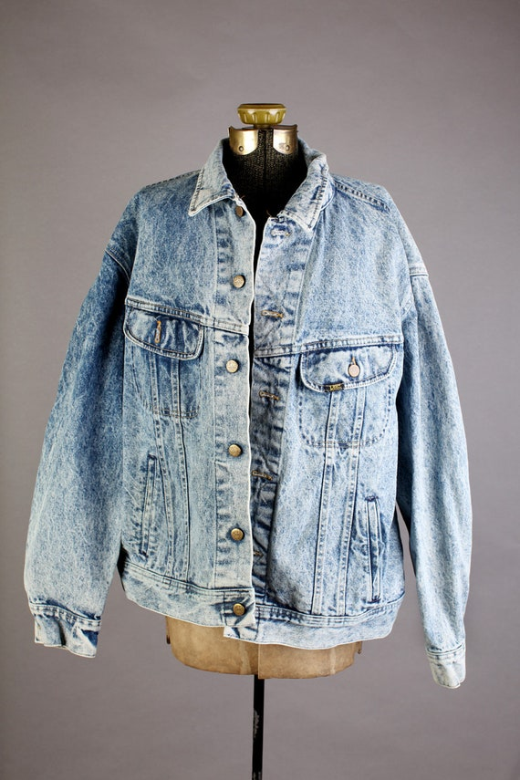 Stone Wash Men's Denim Jean Jacket